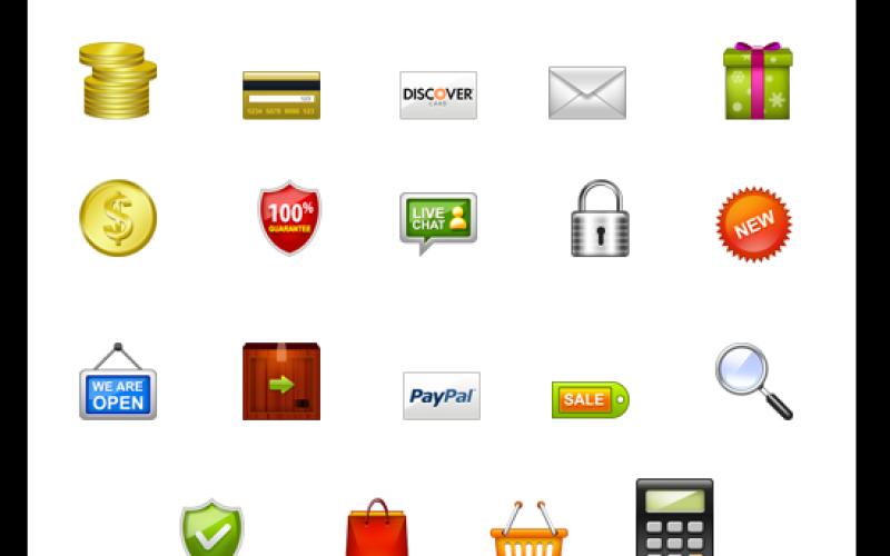Best E-Commerce Photoshop Icons