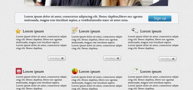 Free Landing Page Design