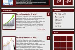 Top Blog Template Website Design