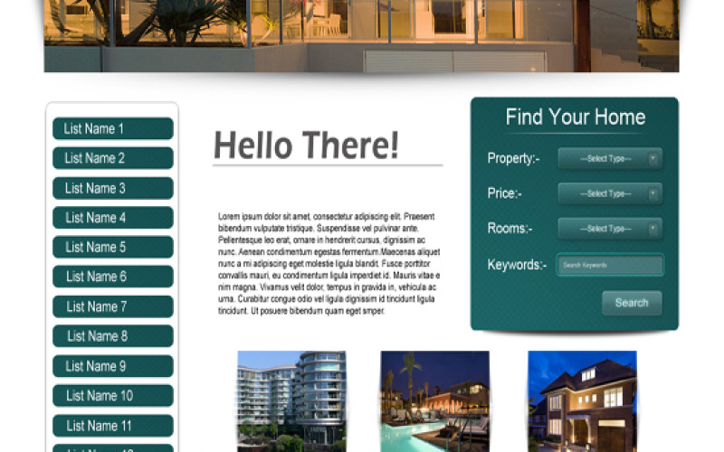 Top 2 Real Estate Template Design