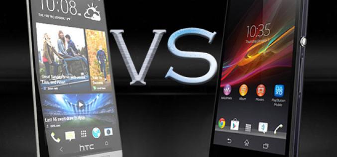 Sony Xperia Z VS HTC One With Specification