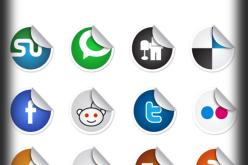Top 12 Round Corner Social Icons
