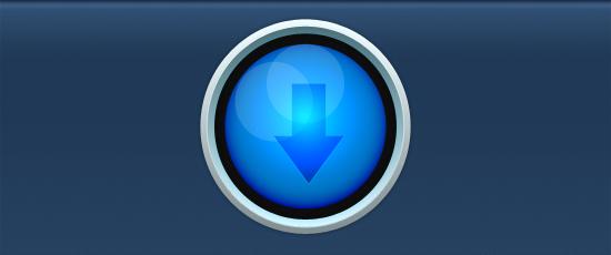 best blue arrow design