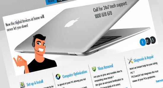 best technical support template design2