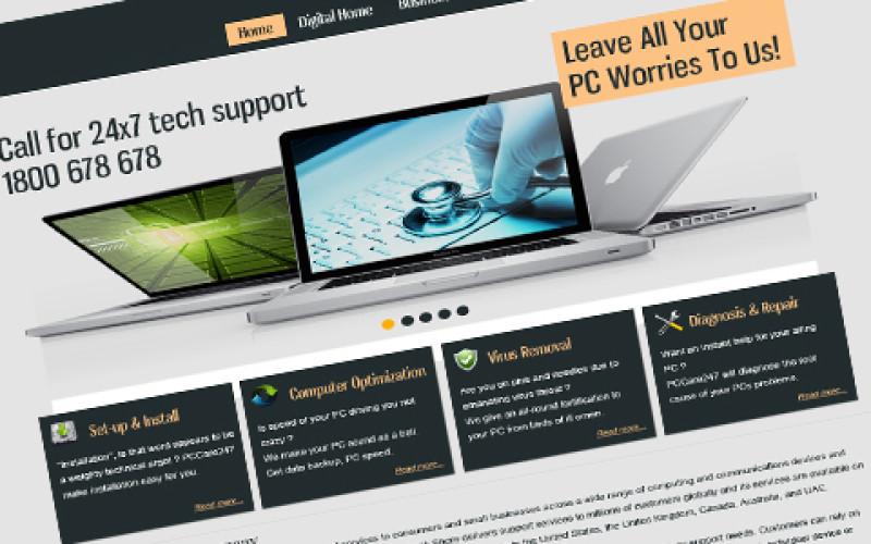 Best Technical Support Template Design