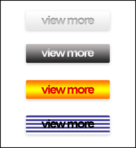 Web Buttons with Hover Effects