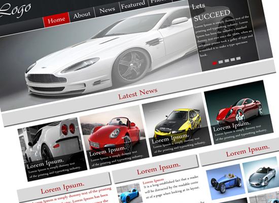 best automobile business template design