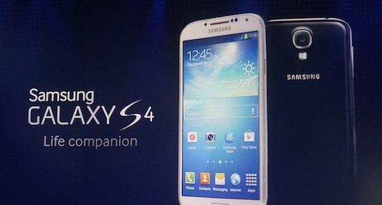 Samsung Galaxy S4 Smart Phone Now On Sale