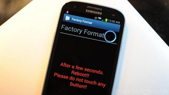 Hard Reset Galaxy Smartphones