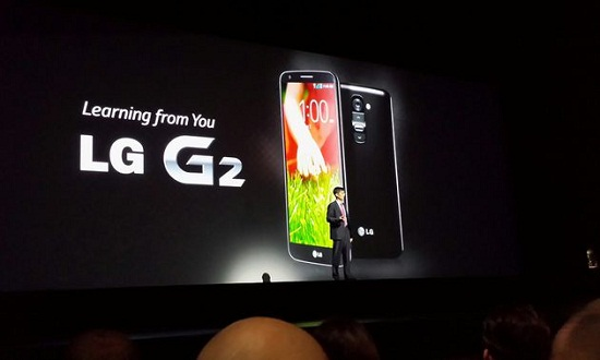 LG G2 bis Huawei Ascend P6