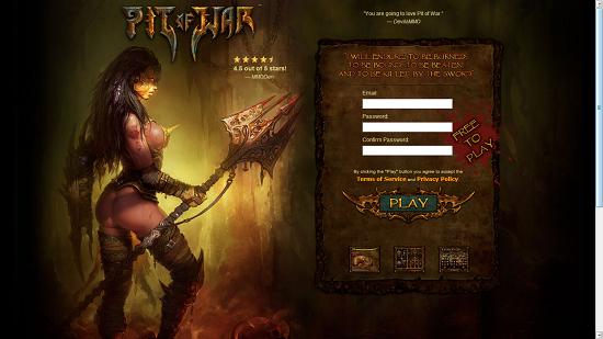 Pit of War Online Free gladiator Game