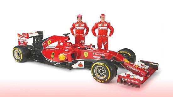 Ferrari F14 T compete in Formula One