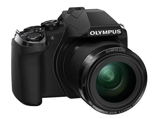 Olympus SP-100EE with super zoom and telescopic sight