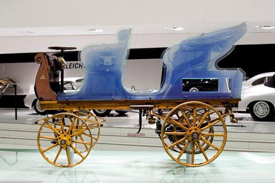Porsche P1 An electric Porsche in 1898
