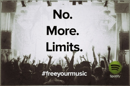 Spotify now unlimited and free for Web users
