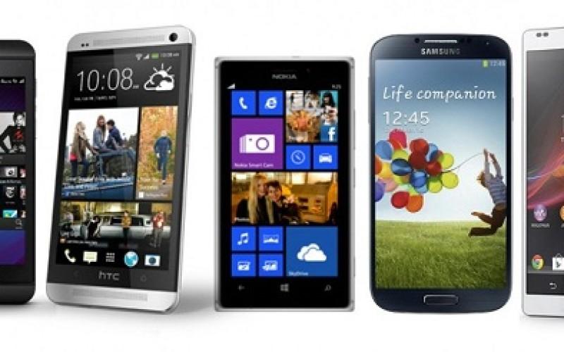 The 5 best smartphones of 2013