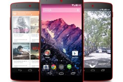 The Nexus 5 is now available in red