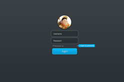 Top Login Form Psd Design For Bloggers