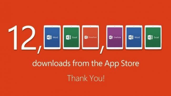 iPad Apps Achieved 12 Million Downloads In A Week