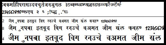 Top 130 Hindi Font Bundle For Blogger
