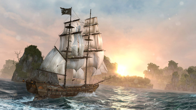 Assassin's Creed 4 Black Flag Now in Chinese version (1)