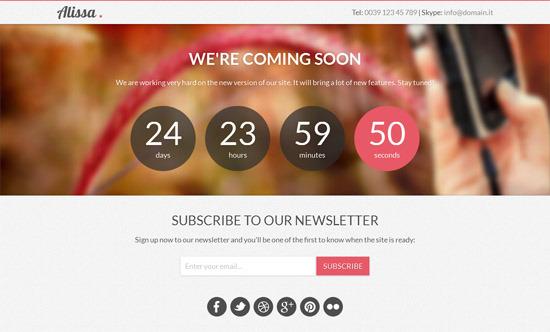 Wordpress Coming Soon Theme Free Download