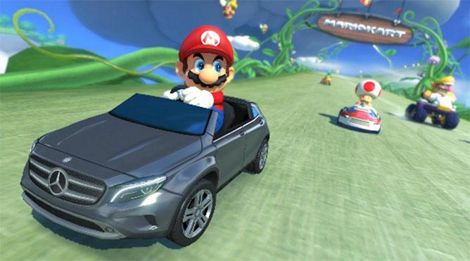 Mario Kart 8 Comes With Mercedes Benz GLA