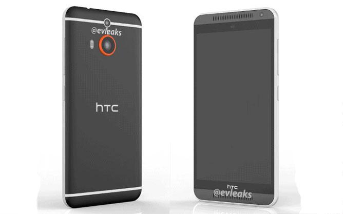 Photos leaked M8 HTC Prime Model