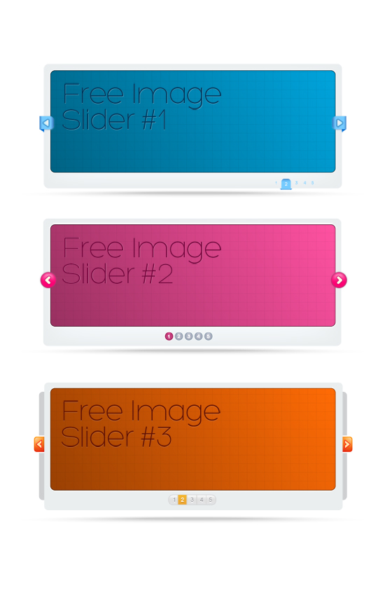 Slider Template Psd Design For All Bloggers