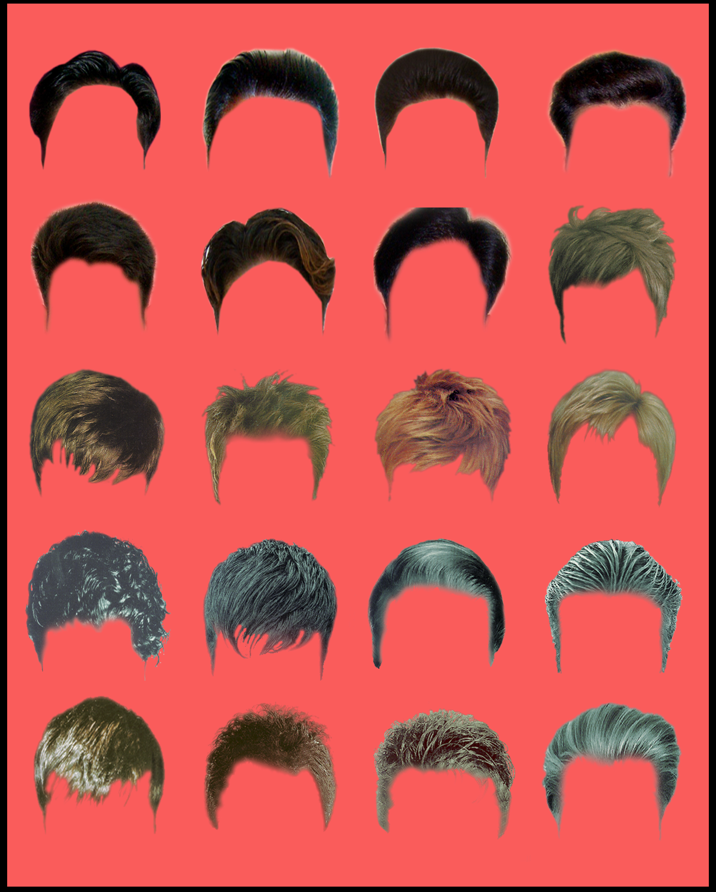 hair style psd design techfameplus.com