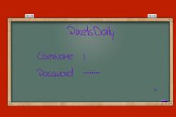 Blackboard Login Form Design For Blogger