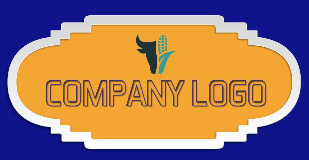 top best Free business logo design techfameplus #04