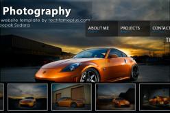 Deepak Photography html css website design effects
