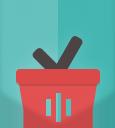 basket-Flat Shopping Icons