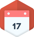 calendar-Flat Shopping Icons