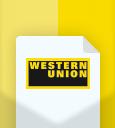 western-union-Flat Shopping Icons