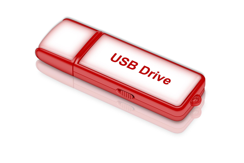 Free USB Drive PSD Design
