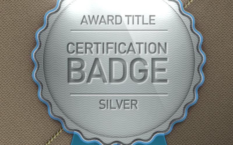 Top 3 Awesome Award Badge PSD Design
