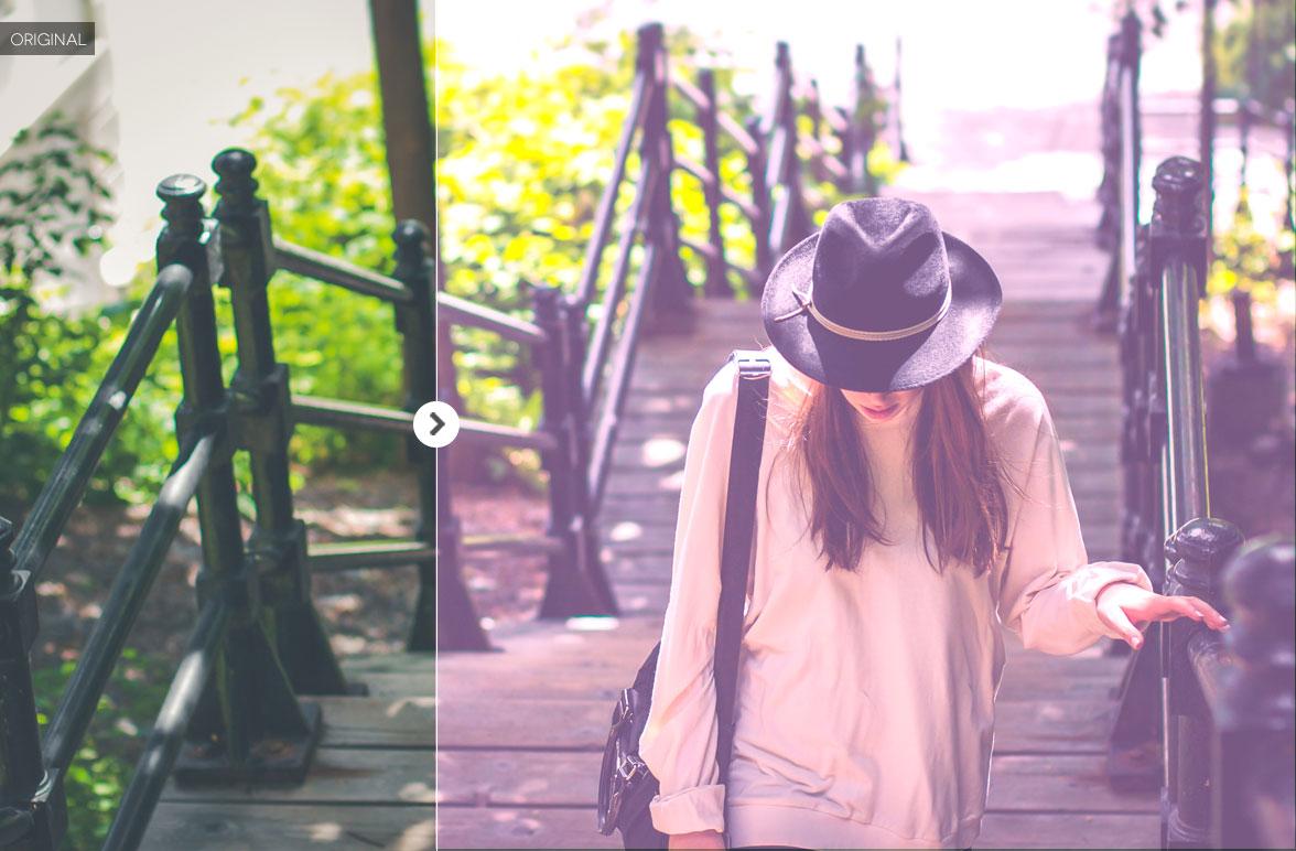Free Fashion Effect Photoshop Action 6
