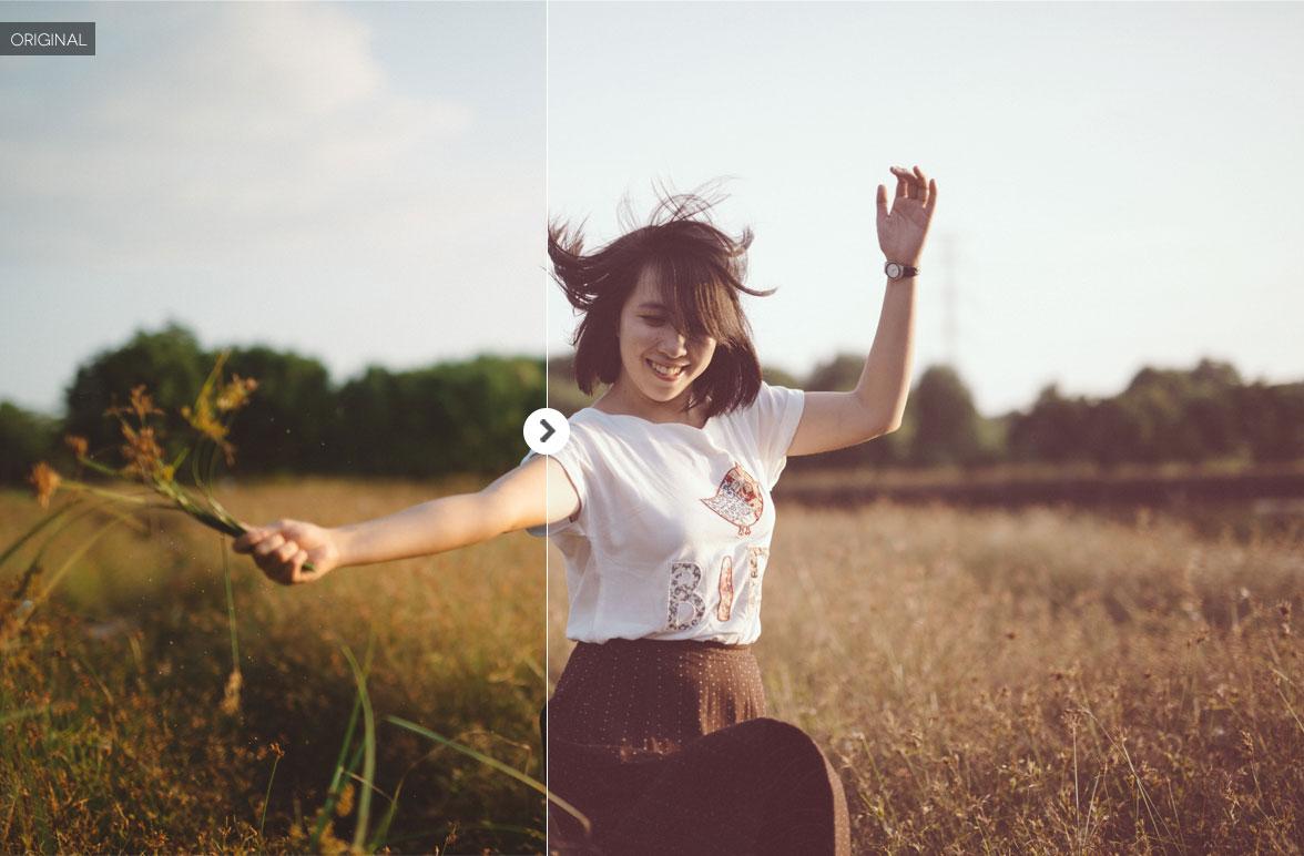 Free Portrait Photoshop Action 17
