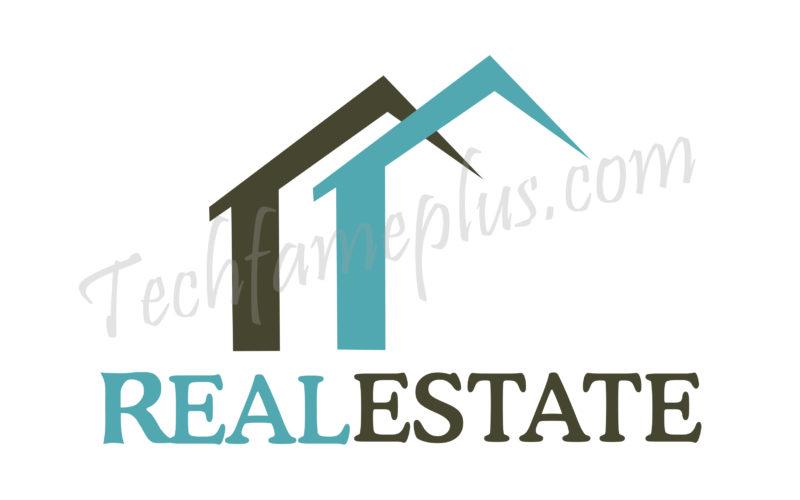 Best Real Estate PSD Logo Mockup Design