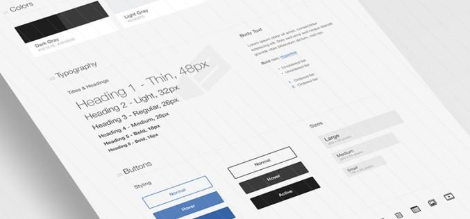Free UI Design PSD Design New Style