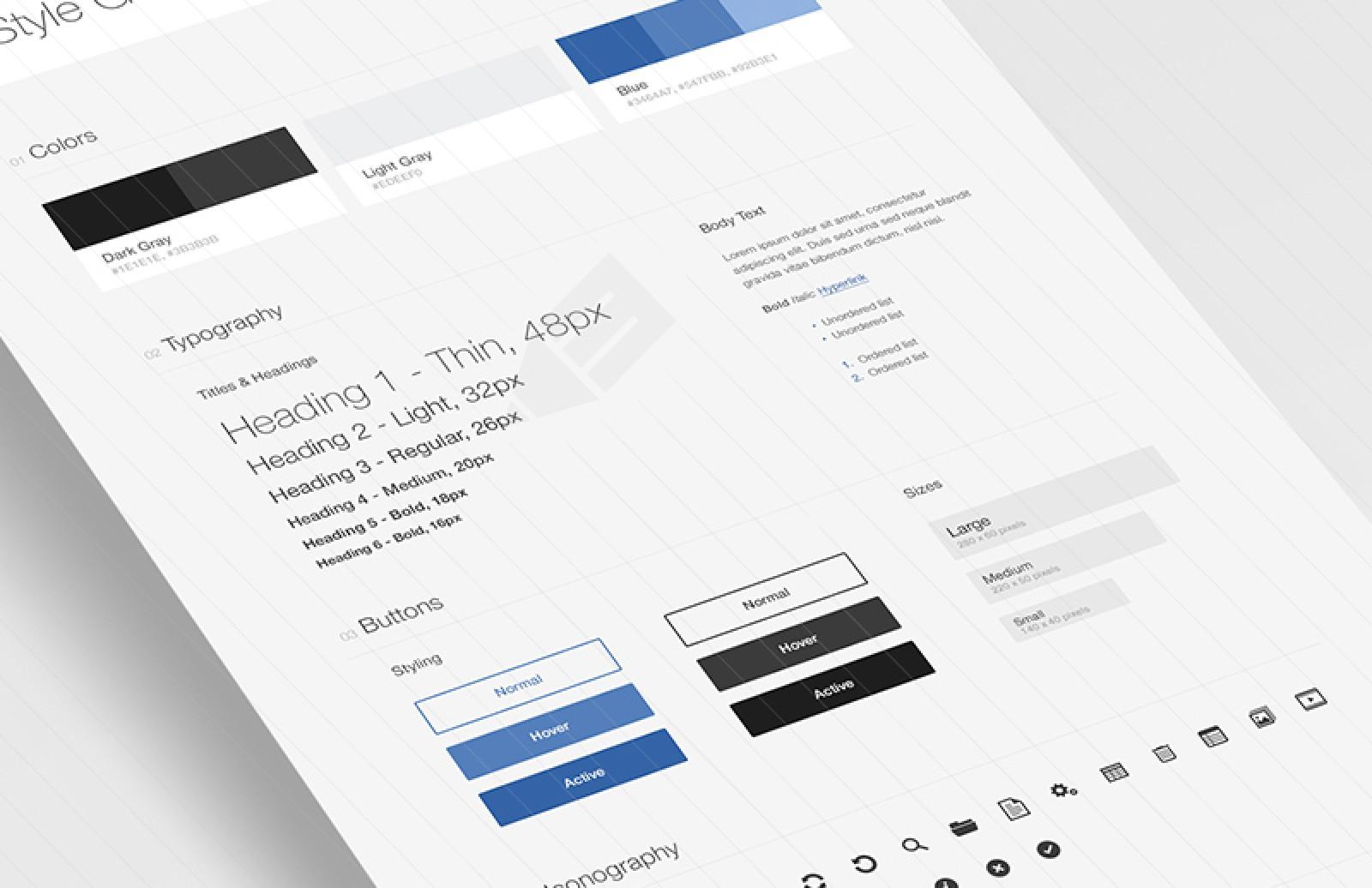 free UI design Style PSD design