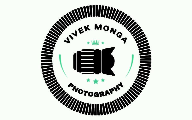 Free Photography Logo PSD Mockup Design