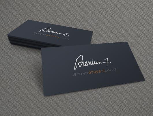 Business cards PSD mockup design