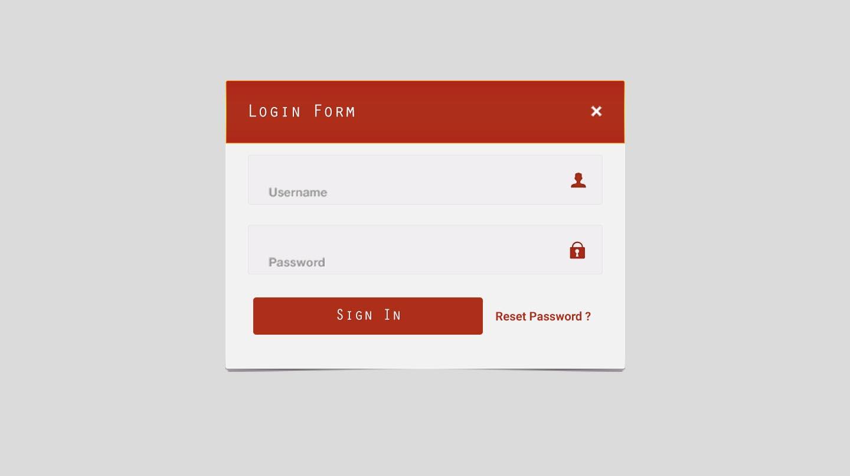 Top 5 Best Login Form Mockup PSD Design