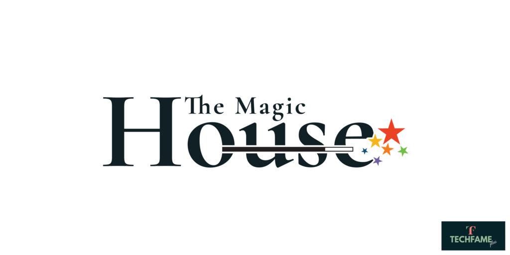 The Magic houses Real Estate PSD Logo Design