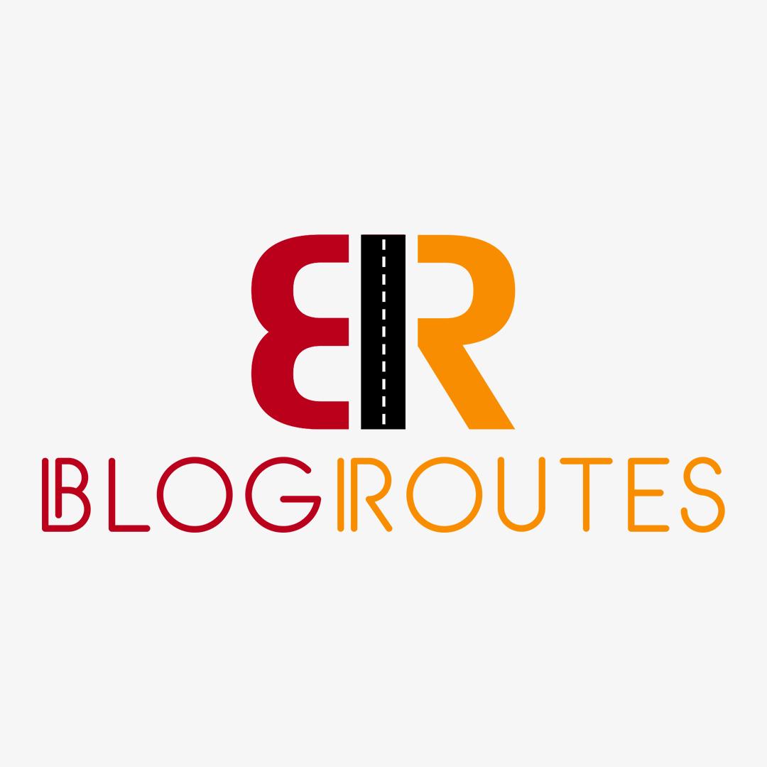 Blog Routes PSD Logo Design