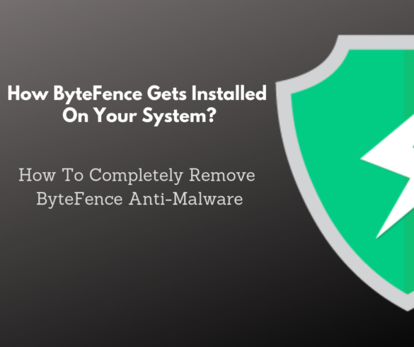 How ByteFence gets installed on your system?