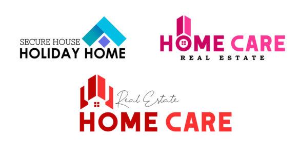 Creative Real Estate Logo Design Idea